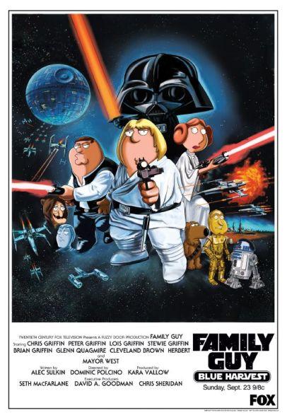 Padre de familia - Stars Wars